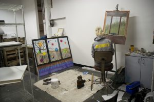 A view of the Park Trades studio